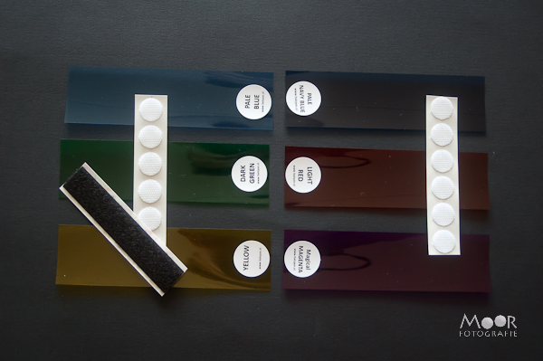Set van 6 kleurgels